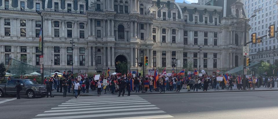 Pro-Armenia Rally-Goers In Philadelphia Chant 'Turkey Is Isis'