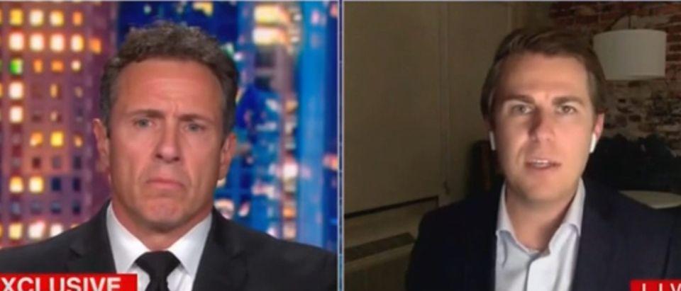 CNN's Chris Cuomo and Miles Taylor Screenshot, via Grabien)