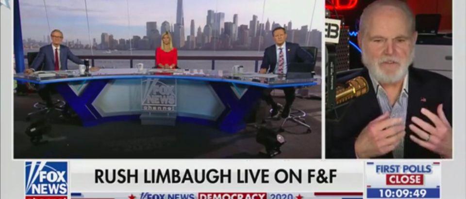 "Rush Limbaugh on ""Fox & Friends"""