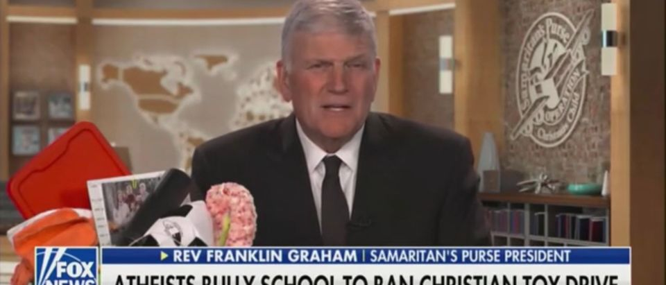 Rev. Franklin Graham, Samaritan's Pure