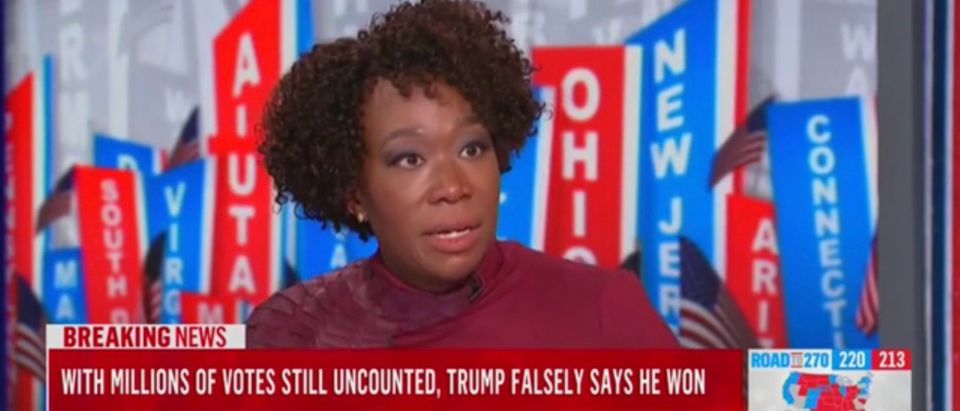 MSNBC host Joy Reid
