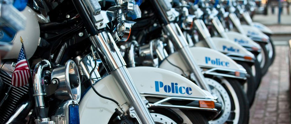 Boston Police Special Operations : Motorcycle Unit by Bruce Peter. Shutterstock.