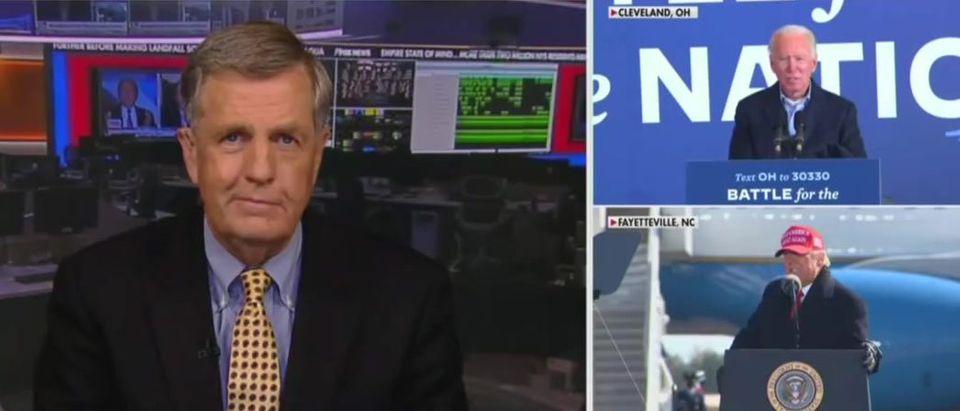 Brit Hume says GOP Senate would help Biden (Fox News screengrab)