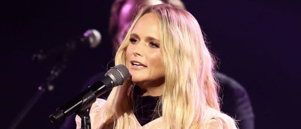 NASHVILLE, TENNESSEE - NOVEMBER 11: Miranda Lambert performs onstage during the The 54th Annual CMA Awards at Nashville's Music City Center on Wednesday, November 11, 2020 in Nashville, Tennessee. (Photo by Terry Wyatt/Getty Images for CMA)