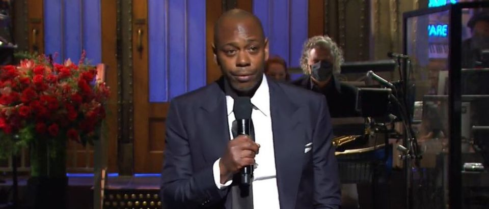 Dave Chapelle hosts Saturday Night Live (YouTube screengrab)