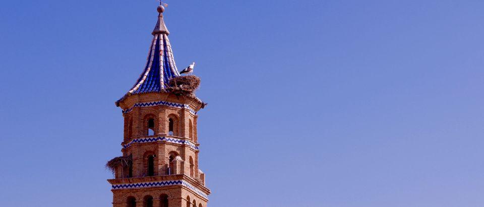 Dome of Catholic Church in Tauste, Zaragoza Province, Aragon, Spain by Yana Demenko. Shutterstock.