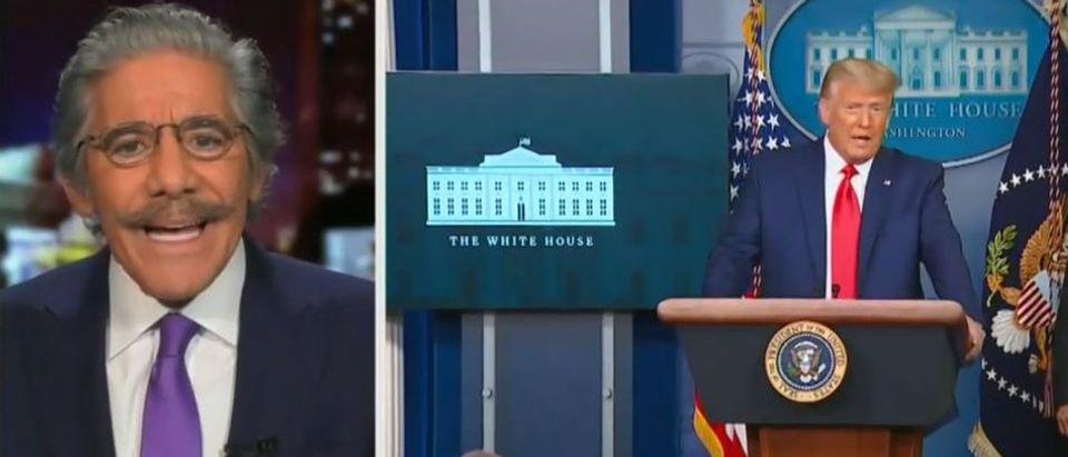 Geraldo Rivera criticizes Trump on Georgia (Fox News screengrab)