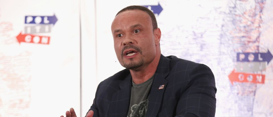 Dan Bongino speaks onstage during Politicon 2018 at Los Angeles Convention Center on October 21, 2018 in Los Angeles, California. (Phillip Faraone/Getty Images for Politicon )