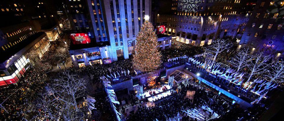 86th Annual Rockefeller Center Christmas Tree Lighting Ceremony