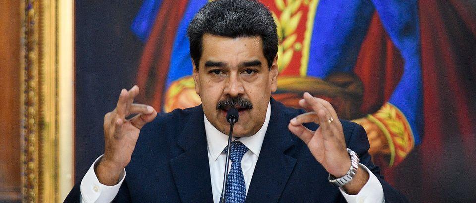 Nicolas Maduro Hosts The Simon Bolivar Journalism National Award Ceremony