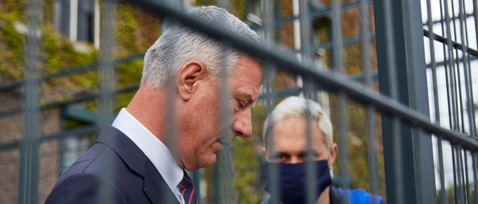 War Crimes Prosecutors Question Kosovo President Thaci In The Hague