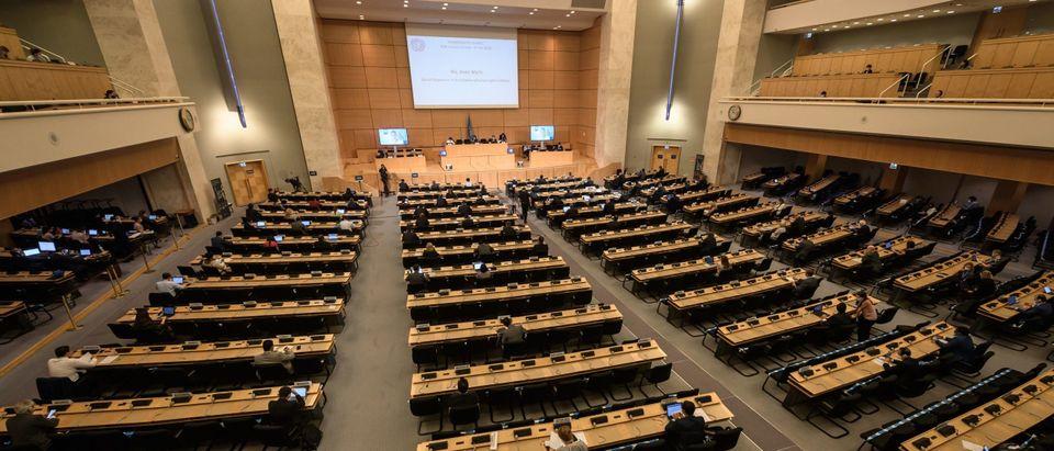SWITZERLAND-BELARUS-UN-POLITICS-UNREST-RIGHTS