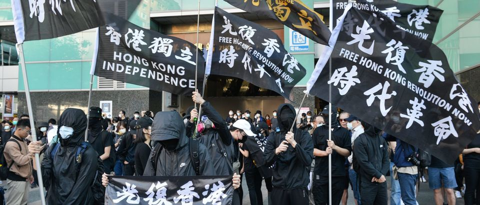 TAIWAN-HONG KONG-CHINA-POLITICS-PROTEST