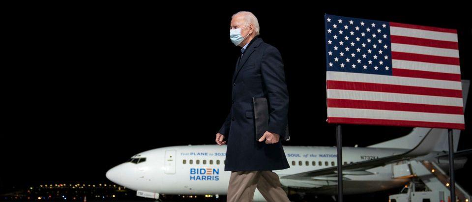 Presidential Candidate Joe Biden Delivers Remarks In Milwaukee, Wisconsin