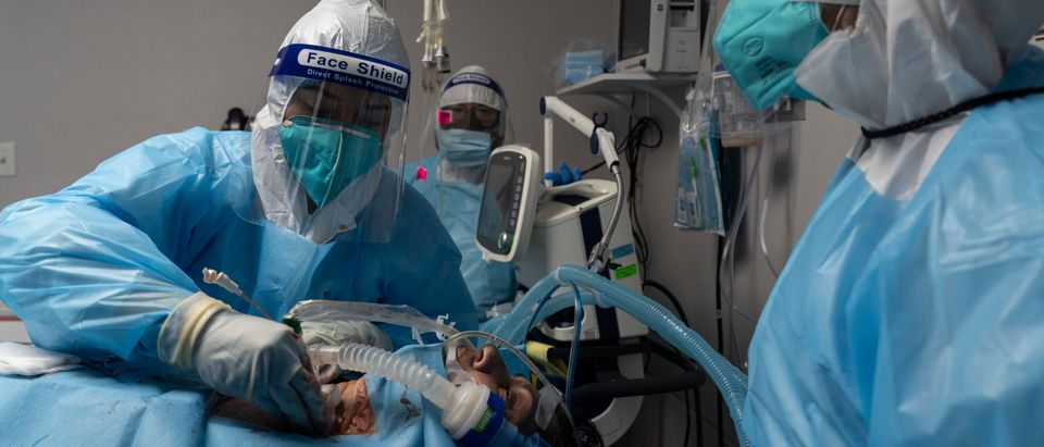 Houston Hospital Continues To Deal With Spike In Covid Cases