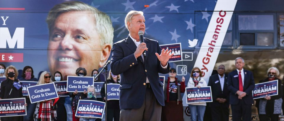 Sen. Graham Campaigns In South Carolina On Eve Of Election