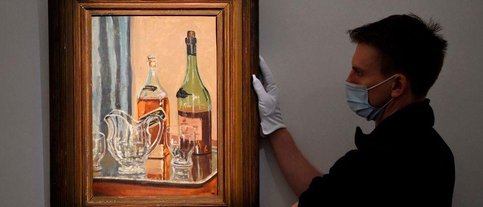 BRITAIN-ART-HISTORY-AUCTION