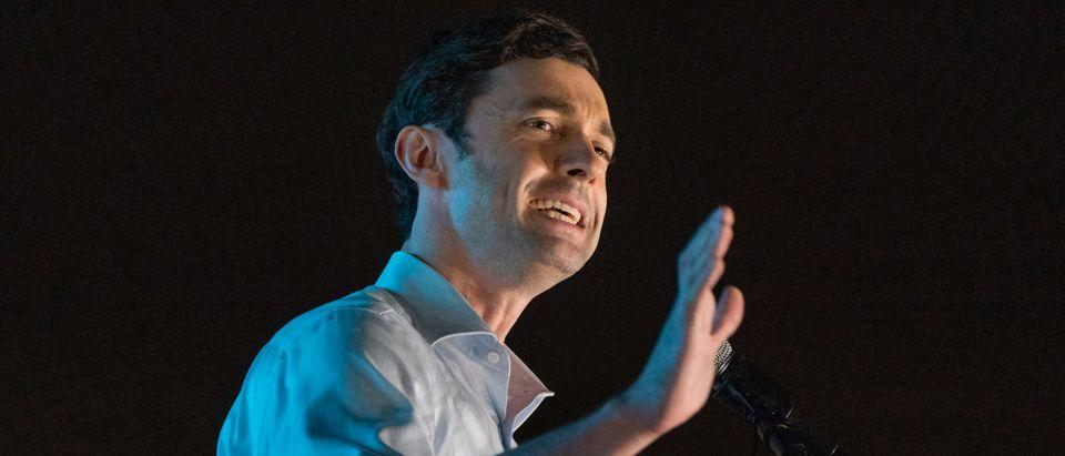 Georgia Senate Candidate Jon Ossoff Campaigns For His Runoff Election