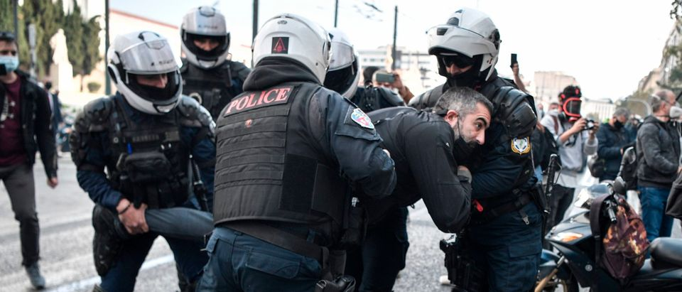 GREECE-POLITICS-DEMO-POLICE-HISTORY