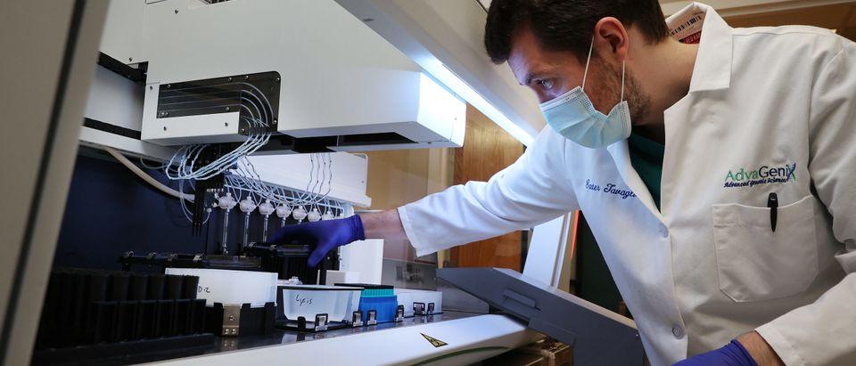 Genetics Lab Processes Coronavirus Tests In Maryland