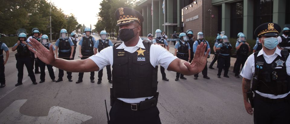 Chicago Residents Hold March Calling For Defunding Of Police