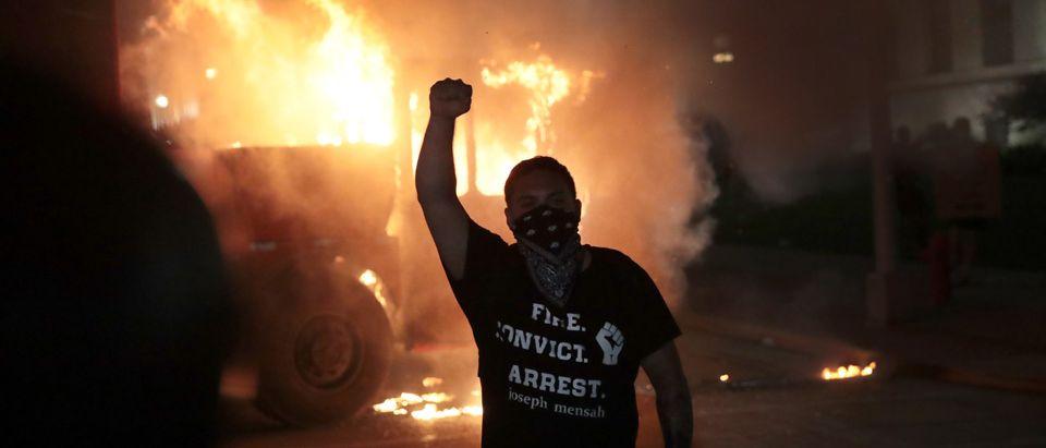 Protests Erupt After Kenosha, WI Police Shoot Black Man 7 Times In The Back