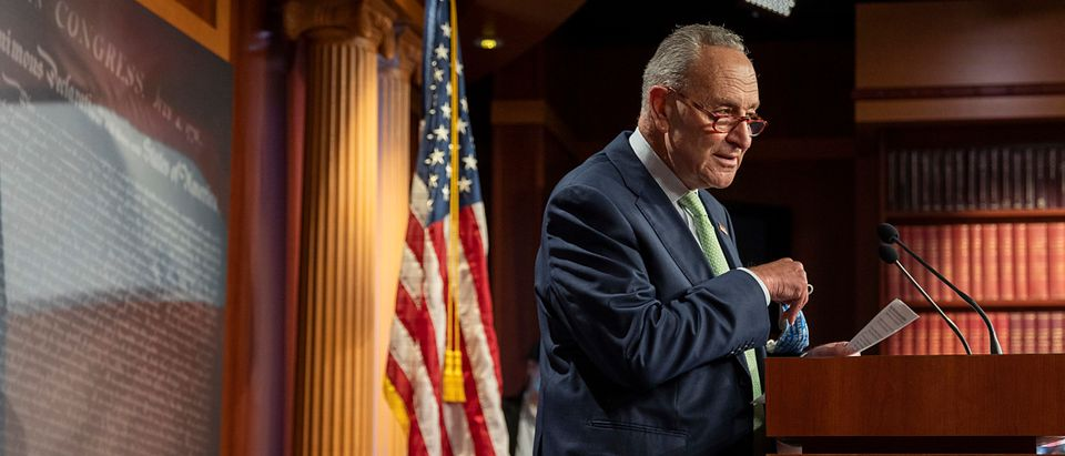 Sen. Chuck Schumer Holds Press Conference On Saving Affordable Care Act