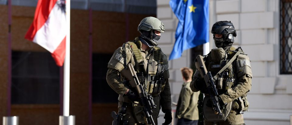 Vienna City Center On Third Day After Terror Attack
