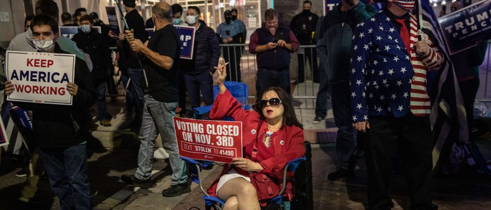 Protests Continue In Philadelphia As Pennsylvania Counts Votes
