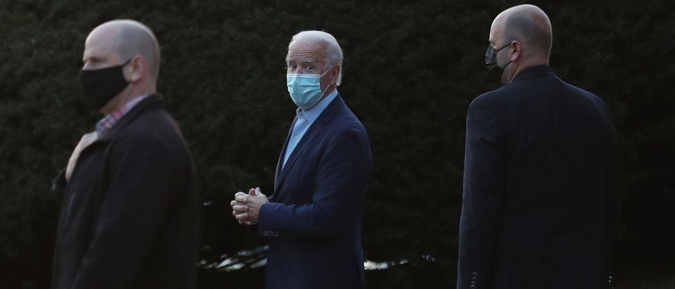Vice President-Elect Joe Biden Attends Church Services In Wilmington, Delaware