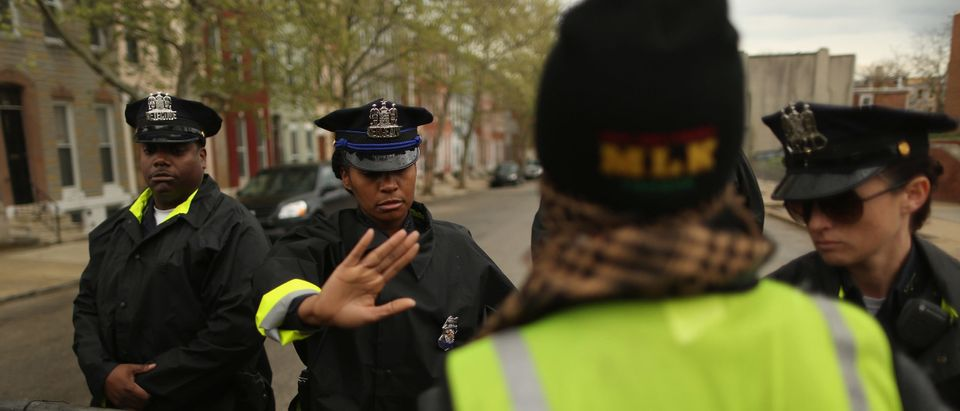 Protesters March Over Death Of Freddie Gray