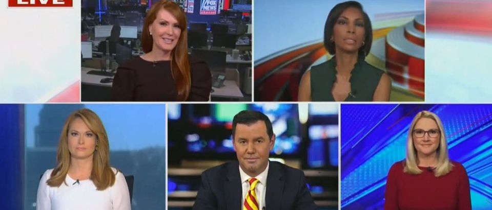 Harris Faulkner tells Marie Harf to take a seat (Fox News screengrab)