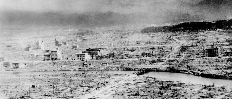 Hiroshima 1945 by Everett Collection. Shutterstock.