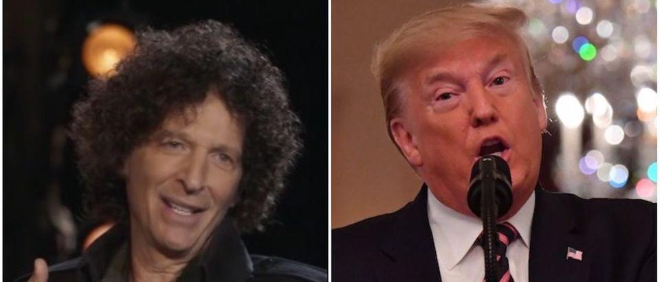 Howard Stern and Trump