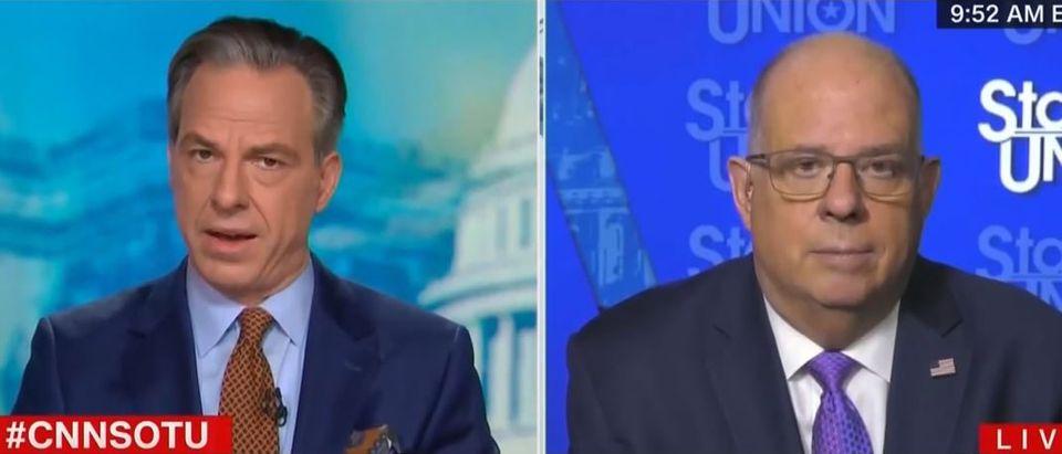 Jake Tapper criticizes GOP leaders (CNN screengrab)