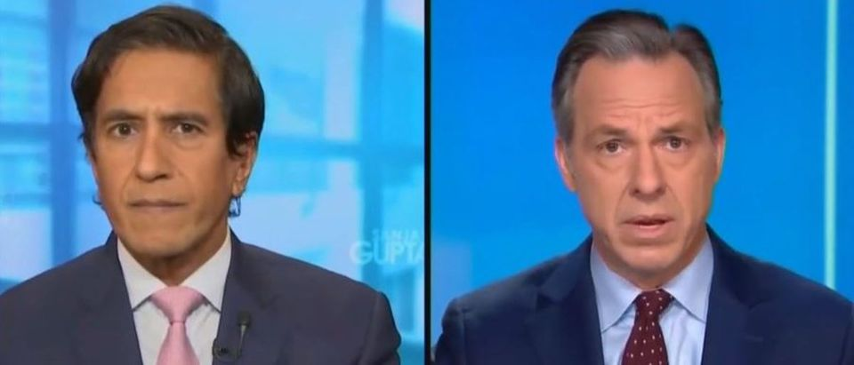 Jake Tapper praises vaccine development (CNN screengrab)