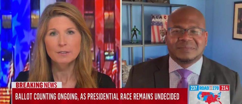 MSNBC's Jason Johnson Calls Mitch McConnell, Kyle Rittenhouse 'The Enemy' (MSNBC screengrab)
