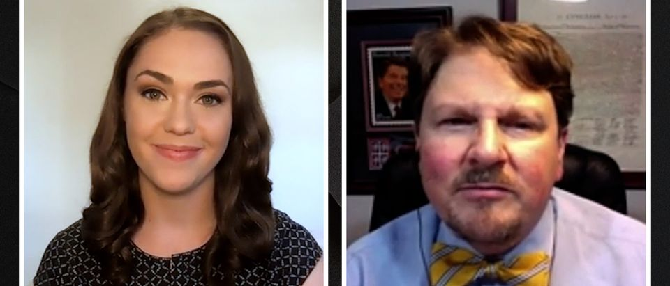 Robert Cahaly speaks with the Daily Caller