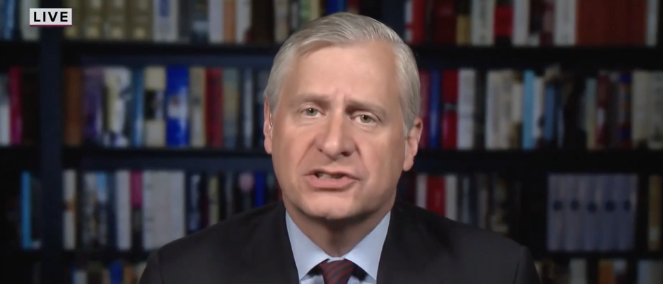 Jon Meacham was reportedly let go as a paid contributor for MSNBC. (Screenshot YouTube TODAY, https://www.youtube.com/watch?v=jTce5MQ_xyg)
