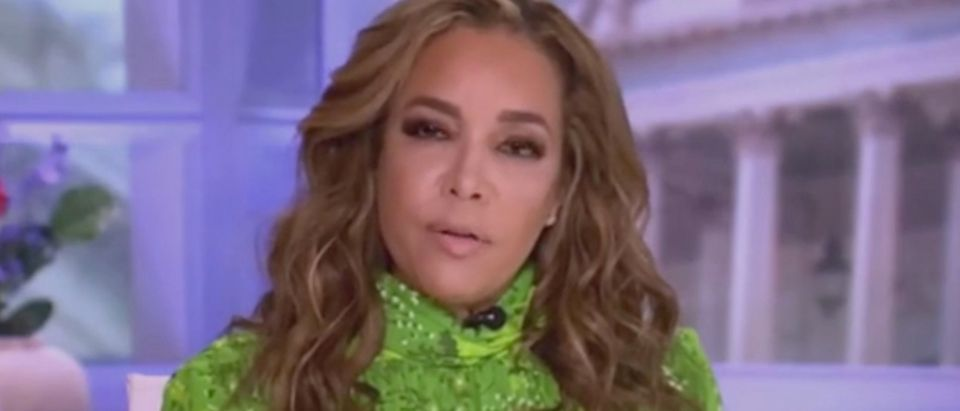 """Sunny Hostin appears on """"The View."""" Screenshot/ABC"""