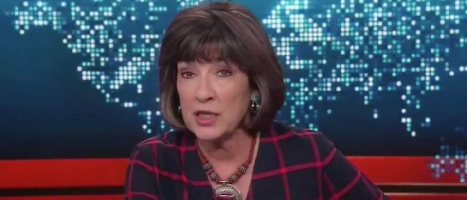 CNN anchor Christiane Amanpour sparks backlash after comparing Kristallnacht to President Donald Trump (Screenshot/ Twitter Hillel Neur