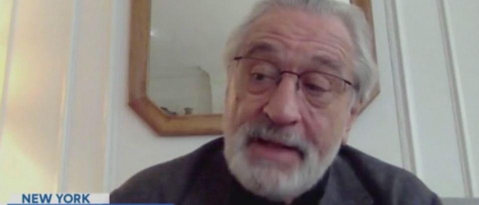 "Robert De Niro appears on ""The View."" Screenshot/ABC"