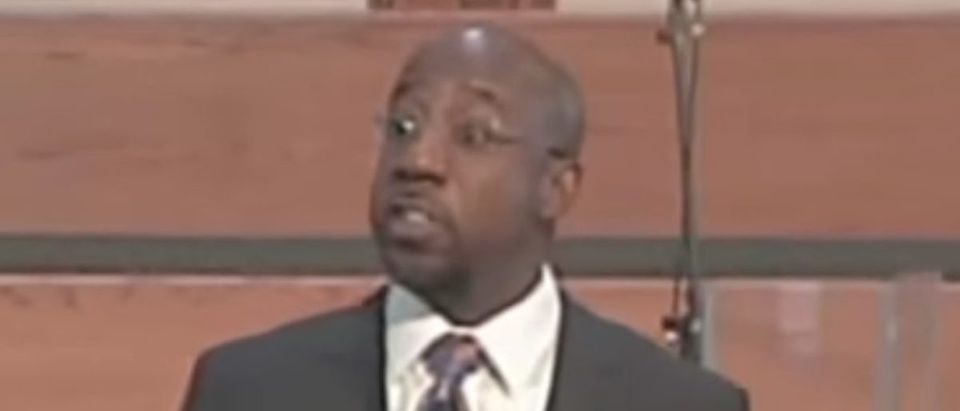 Screen Shot_Youtube_Raphael Warnock - Political Preaching!_! What do YOU stand for__Raphael Warnock