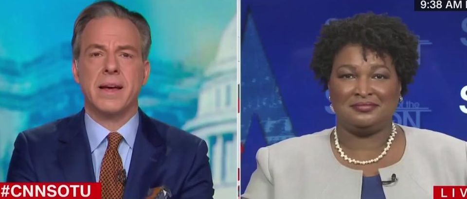 Stacey Abrams says Georgia Senate candidates can win (CNN screengrab)