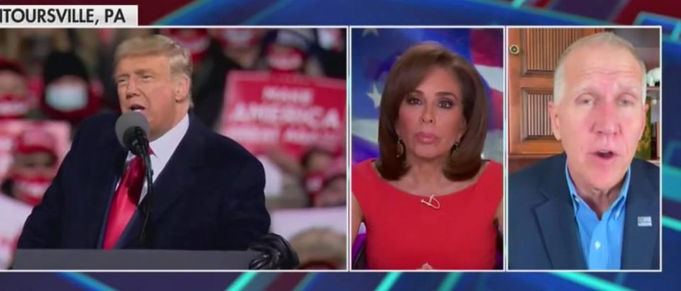 Thom Tillis discusses Senate race (Fox News screengrab)