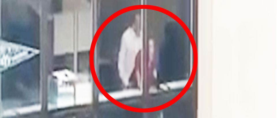 Video appears to show couple having sex in VOA building