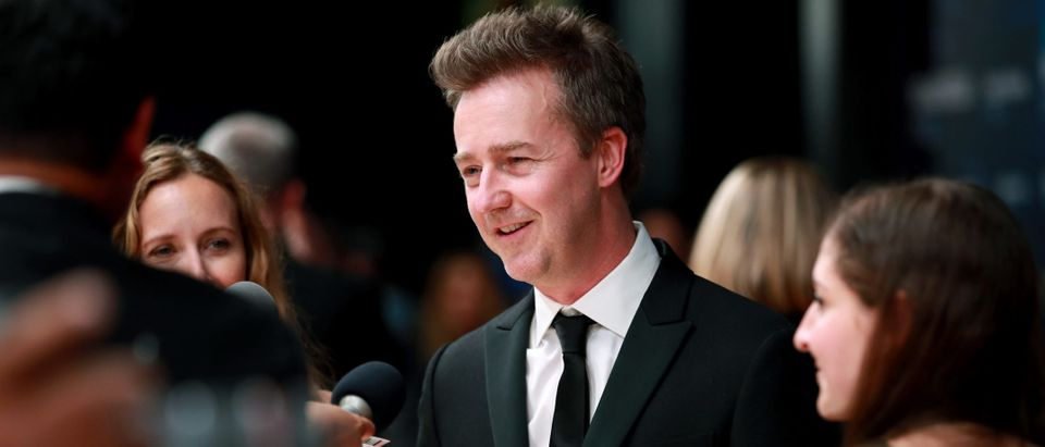 Edward Norton attends the 8th Annual Breakthrough Prize Ceremony at NASA Ames Research Center on November 03, 2019 in Mountain View, California. (Photo by Rich Fury/Getty Images)