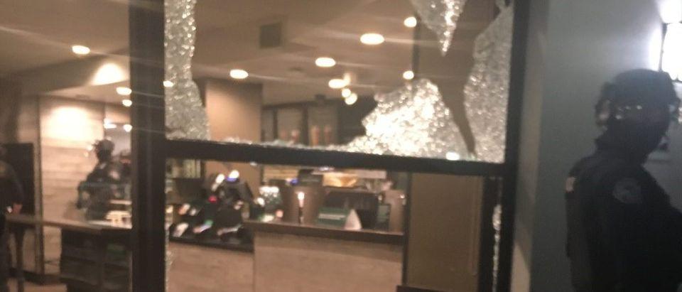 Starbucks damage/Multnomah County Sheriffs Office