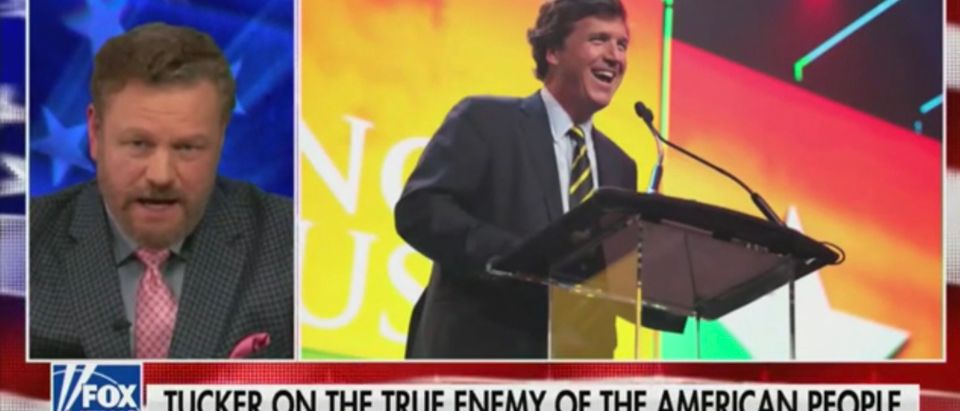 Mark Steyn introduces Tucker Carlson video