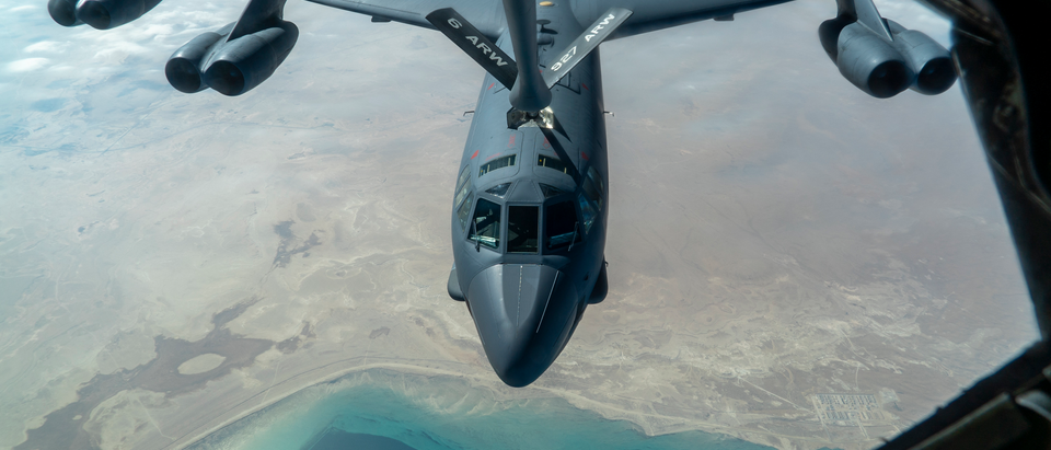 B52 Refueling - Photo From CENTCOM Press Release